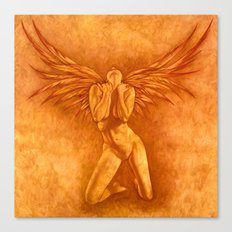 Angel Rising Canvas Print