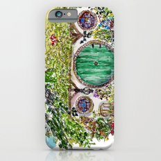 Hobbit hole iPhone 6 Slim Case