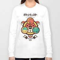 Pocket Monster Trainer Long Sleeve T-shirt