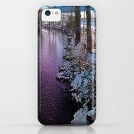 Quiet River In Winter Ti… iPhone 5c Slim Case