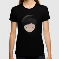 Women_A Womens Fitted Tee Black SMALL