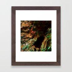 Dehiscence 9 Framed Art Print
