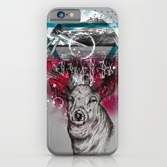 Cosmic Deer iPhone & iPod Case