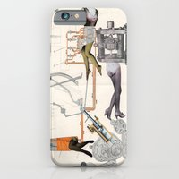 iPhone & iPod Case featuring Diagram Of Female Feeding Of D-104 Engine by Raul Gil