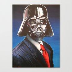 Dapper Vader Canvas Print