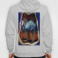 Aboriginal Art - Emu Hoody