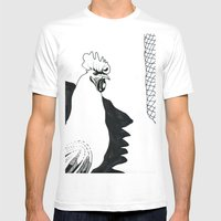 Animal Mens Fitted Tee White SMALL