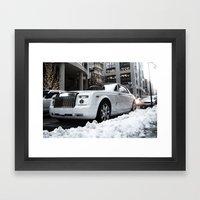 Drophead Coupe Framed Art Print