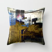 Beauty Beyond The Frame Series Throw Pillow