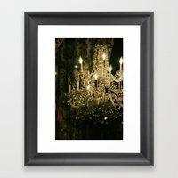 New Orleans Chandelier Framed Art Print