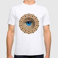 infinite gaze Mens Fitted Tee Ash Grey SMALL