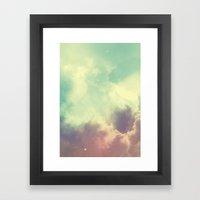 Nebula 3 Framed Art Print