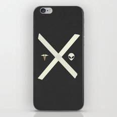 Mulder and Scully iPhone & iPod Skin