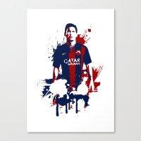 Lionel Messi Canvas Print