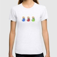 potions Womens Fitted Tee Ash Grey SMALL