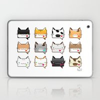 Convo Cats! Laptop & iPad Skin