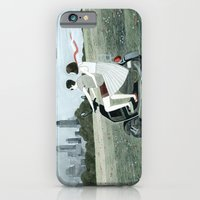 Couple On Scooter iPhone 6 Slim Case