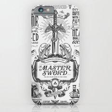 Legend of Zelda Vintage Master Sword Advertisement iPhone 6 Slim Case