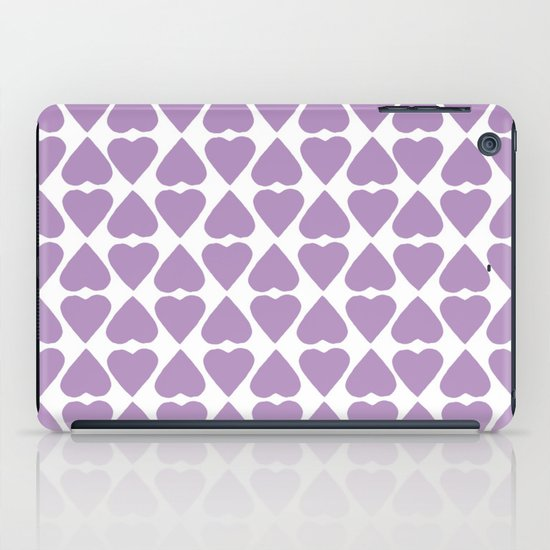 Diamond Hearts Repeat O iPad Case
