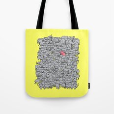 Stand out  & be herd Tote Bag