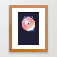 Melting Point Framed Art Print
