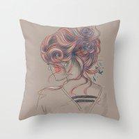 Colourblind 2 Throw Pillow