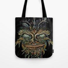 Forest Elemental Color Tote Bag