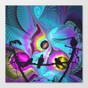 Birds Kingdom Canvas Print