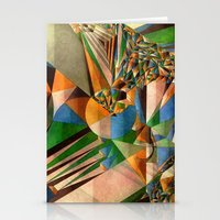Green Lights Everywhere Stationery Cards