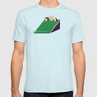 Hill race Mens Fitted Tee Light Blue SMALL