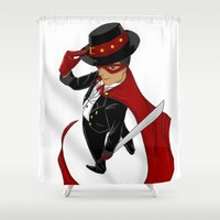 Tuxedo Mask x Andres Bonifacio Shower Curtain