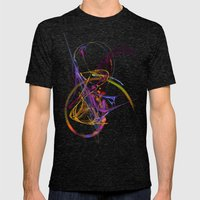 Complexity Mens Fitted Tee Tri-Black SMALL