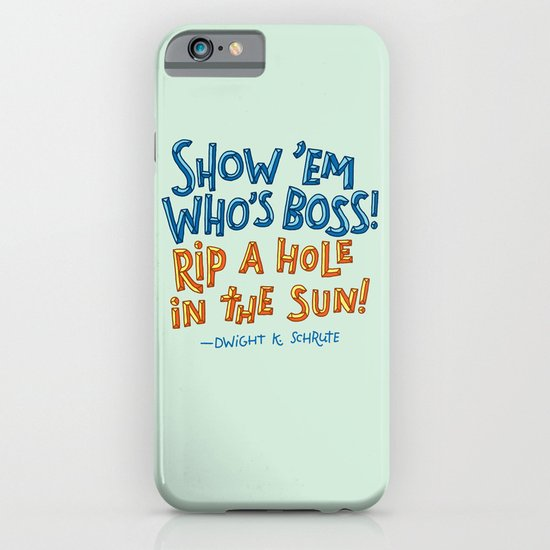 Dwight K. Schrute iPhone & iPod Case