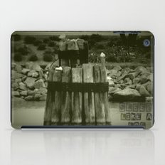 Sleep like a log iPad Case