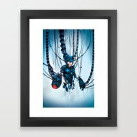 Would You Like To Restar… Framed Art Print