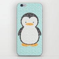 Penguin Dotz iPhone & iPod Skin