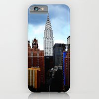 iPhone & iPod Case featuring Chrysler Building by Alev Takil