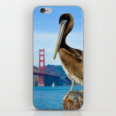 Pelican & Golden Gate iPhone & iPod Skin
