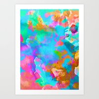 candy Art Prints featuring Candy by Amy Sia