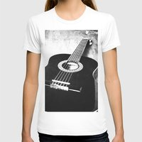 guitar T-shirts featuring Guitar by Falko Follert Art-FF77