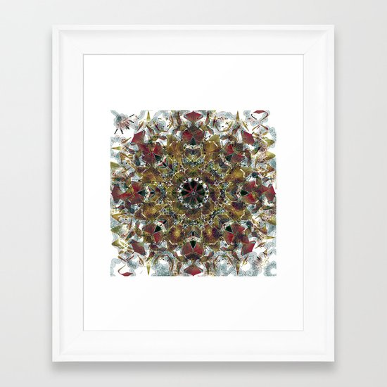 What you give will be yours forever Framed Art Print