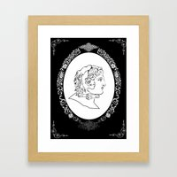 Alexander the great Framed Art Print