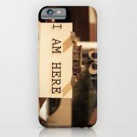 WALL-E    -  I AM HERE iPhone 6 Slim Case