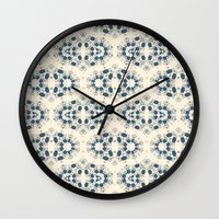Digital lace Wall Clock