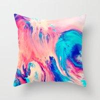 Spill Throw Pillow
