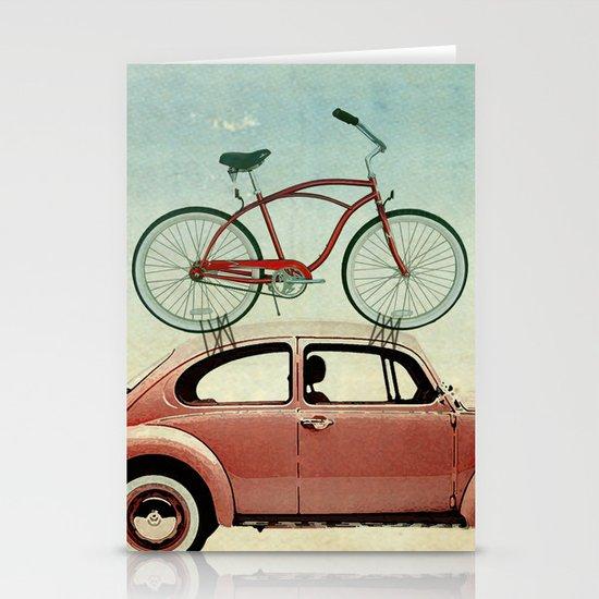 VW bike rack Stationery Card