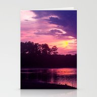 Stationery Cards featuring Summer Sunset by Roger Wedegis