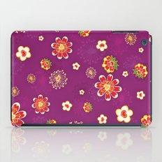 Purple Burst iPad Case
