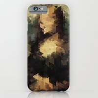iPhone & iPod Case featuring Panelscape Iconic - Mona Lisa by ⊙ Paolo Tonon