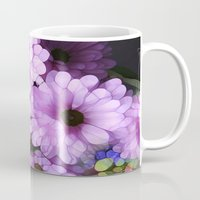 Daisies from the Galaxy Mug